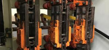 Manutenção em chave seccionadora