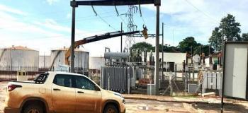 Projeto de subestação elétrica